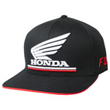 Fox Racing Honda Flex Fit Hat 19 Black