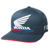 Fox Racing Honda Flex Fit Hat 19 Navy