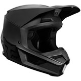 Fox Racing Youth V1 Matte Black Helmet Matte Black