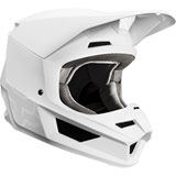 Fox Racing V1 Matte Helmet White