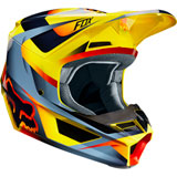 Fox Racing V1 Motif Helmet Yellow