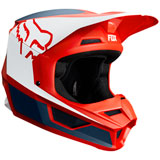 Fox Racing V1 PRZM Helmet Navy/Red