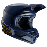 Fox Racing V1 SE Helmet Navy/Gold