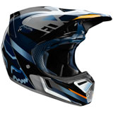 Fox Racing V3 Motif MIPS Helmet Blue/Silver