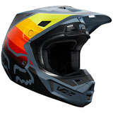 Fox Racing V2 Murc Helmet Blue Steel