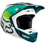 Fox Racing V2 Murc Helmet Green