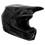 Fox Racing V3 Solids Helmet Carbon/Black