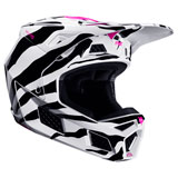 Fox Racing V3 Zebra LE Helmet