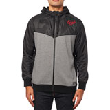 Fox Racing Axle Zip-Up Hooded Sweatshirt