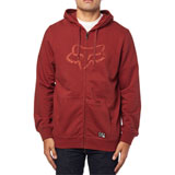 Fox Racing Tracer Zip-Up Hooded Sweatshirt