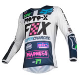Fox Racing Youth 180 Czar Jersey Light Grey