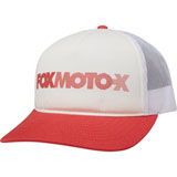 Fox Racing Women's Baldwin Snapback Trucker Hat White
