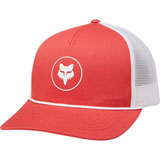 Fox Racing Women's Civic Stadium Snapback Trucker Hat Rio Red