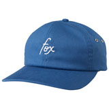 Fox Racing Women's Fox & Chains Adjustable Hat Blue