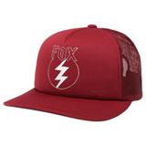 Fox Racing Women's Repented Snapback Trucker Hat Dark Red