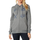 Fox Racing Women's Staged Zip-Up Hooded Sweatshirt