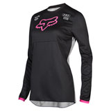 Fox Racing Women's 180 Mata Jersey Black/Pink