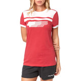 Fox Racing Women's Talladega T-Shirt Rio Red