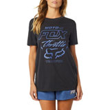 Fox Racing Women's Throttle Maniac Boyfriend T-Shirt