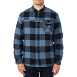 Fox Racing Chicane Sherpa Flannel Long Sleeve Button Up Shirt