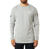 Fox Racing Excellerate Long Sleeve T-Shirt Heather Grey