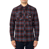 Fox Racing Traildust Long Sleeve Flannel Button Up Shirt