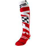 Fox Racing FRI Czar Thin Socks Cardinal