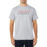 Fox Racing Duel Head T-Shirt Light Heather Grey