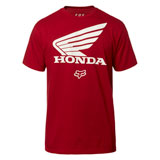 Fox Racing Honda T-Shirt 19 Cardinal