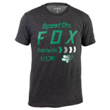 Fox Racing Murc T-Shirt Heather Black