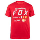 Fox Racing Murc T-Shirt Red
