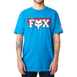 Fox Racing Vegas F Head X Premium T-Shirt Cyan