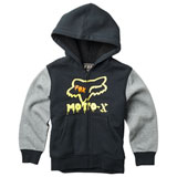 Fox Racing Youth Supercharged Sherpa Zip-Up Hooded Sweatshirt