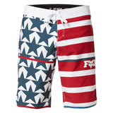 Fox Racing Citizen Board Shorts Blue/Red