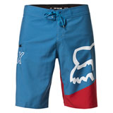 Fox Racing Lapped Board Shorts Light Indigo