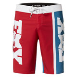 Fox Racing Victory Stretch Board Shorts Chili