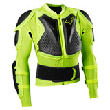 Fox Racing Titan Sport Jacket Body Armor Fluorescent Yellow