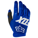 Fox Racing Dirtpaw Race Gloves Blue/White
