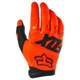 Fox Racing Dirtpaw Race Gloves Fluorescent Orange
