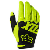 Fox Racing Dirtpaw Race Gloves Fluorescent Yellow