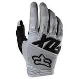 Fox Racing Dirtpaw Race Gloves Grey