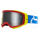 Fox Racing Airspace II Prix Goggle Blue-Red Frame/Spark Chrome Mirror Lens