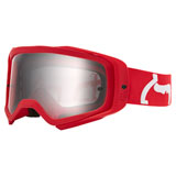 Fox Racing Airspace II Prix Goggle Flame Red Frame/Clear Lens