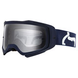 Fox Racing Airspace II Prix Goggle Navy Frame/Clear Lens