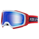 Fox Racing Airspace II Simp Goggle Navy-Red Frame/Spark Blue Mirror Lexan Lens