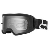 Fox Racing Main II S Goggle Black Frame/Dark Grey Mirror Lexan Lens
