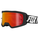 Fox Racing Main II WYNT Goggle Black Frame/Spark Red Mirror Lexan Lens
