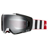 Fox Racing VUE Vlar Goggle Flame Red Frame/Spark Chrome Mirror Lens