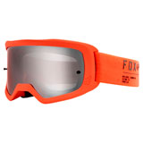 Fox Racing Main II Gain Goggle Fluorescent Orange Frame/Spark Chrome Mirror Lexan Lens