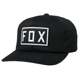 Fox Racing Drive Train Snapback Hat Black